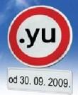 Последние дни для домена .YU