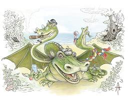 Трехголовый дракон
