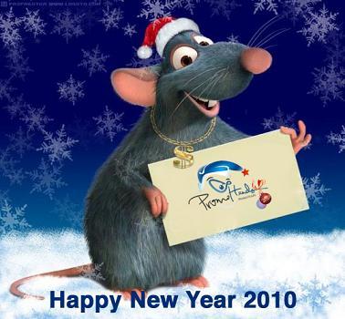 Поздравляю PromoHeads и всех своих читателей с наступающим Новым 2010 годом.