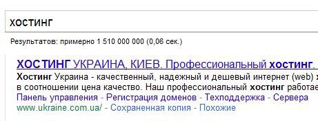 Обзор хостинг провайдера ukraine.com.ua