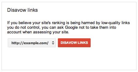 Как снять ручной фильтр Гугла через «Инструмент отклонение ссылок от Google - disavow links»